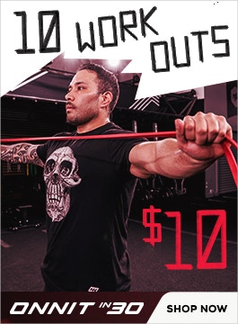 Get 10 great workouts for under 10 bucks.