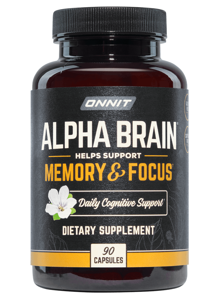 Alpha Brain Nootropic To Improve Brain Function Onnit