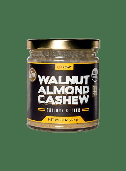 Walnut Almond Cashew Trilogy Butter