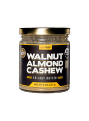 Walnut Almond Cashew Trilogy Butter