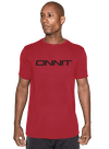 Onnit Type Bamboo T-Shirt Red/Black