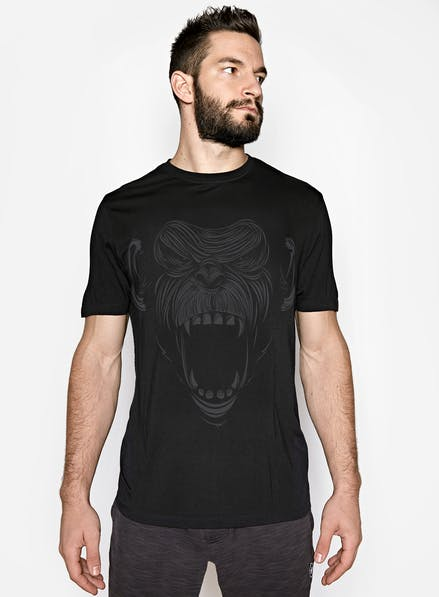 1e645f8cbfae6 Primal Bamboo T-Shirt Black Charcoal
