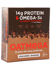 Oatmega Brownie Crisp Protein Bar