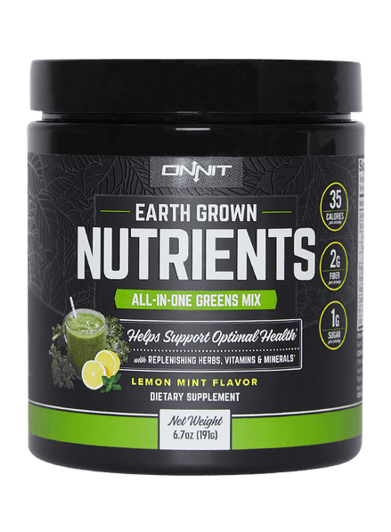 Earth Grown Nutrients - Lemon Mint (200g tub)