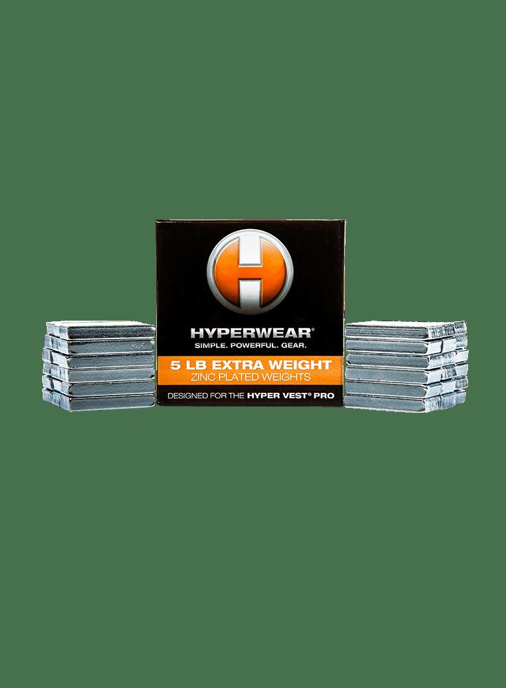 Hyper Vest® PRO Weights (5lbs)
