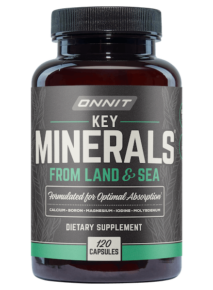 Key Minerals Get The Essential Minerals Your Body Needs