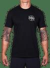 10th Planet Orbit T-Shirt Black/Natural