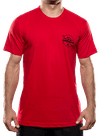10th Planet Orbit T-Shirt Red/Black