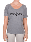 Onnit Type Flowy Tee Gray Heather/Black
