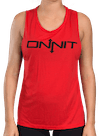 Onnit Type Muscle Tee Red/Black
