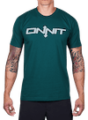 Onnit Type T-Shirt Forest Green/Blue