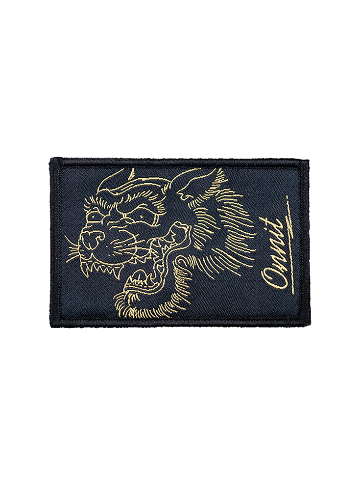 Tiger Charge Patch