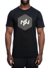 Hex Two-Tone T-Shirt Black/Charcoal