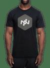 Hex Two-Tone T-Shirt Black/Charcoal