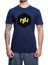 Hex Two-Tone T-Shirt Navy/Black