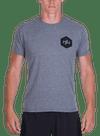 Hex Halftone T-Shirt Gray Heather/Black