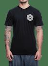 Psych Hex T-Shirt Black/Gray