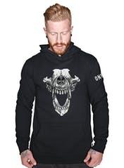 Wolf Skull Hooded Sweatshirt Hero Image