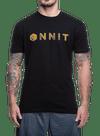 Hardware Type Swirl Bamboo T-Shirt Black/Gold