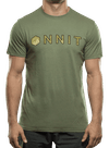 Hardware Type Swirl Bamboo T-Shirt Olive/Tan