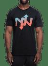 Helix Fade T-Shirt Black/Multi