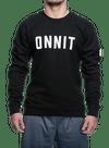 Recruit Crew Sweatshirt Black/White