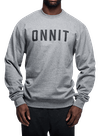 Recruit Crew Sweatshirt Gray Heather/Black