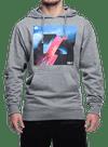 Rise Above Hooded Sweatshirt Gray Heather/Multi