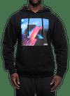 Rise Above Hooded Sweatshirt Black/Multi