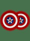 Captain America Shield BarbellPlates