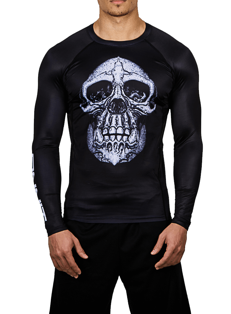 Chimp Skull LS Compression Rashguard
