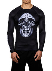 Chimp Skull LS Compression Rashguard Hero Image