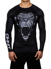 Primal LS Compression Rashguard Black/Light Gray