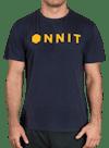 Hardware Type Bamboo T-Shirt Navy/Yellow