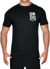 Banner Bamboo T-Shirt Black/White