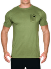 Banner Bamboo T-Shirt Olive/Black