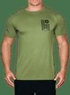 Banner Bamboo T-Shirt Olive/Black