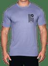 Banner Bamboo T-Shirt Slate/Black