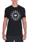 Geo Circle T-Shirt Black/White