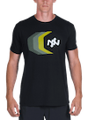 Tracer Bamboo T-Shirt Black/Multi