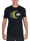 Tracer Bamboo T-Shirt Black/Multi