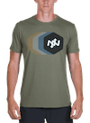 Tracer Bamboo T-Shirt Olive/Multi