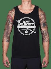 10th Planet Orbit Tank Top Hero Image
