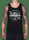 10th Planet Orbit Tank Top Black/Gray