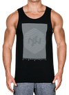 Hardline Tank Top Black/White