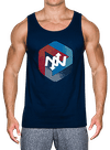 Transit Tank Top Navy/Multi