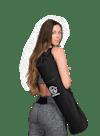 Black Swan Yoga Mat Bag Black/White