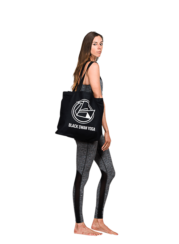Black Swan Yoga Tote Bag