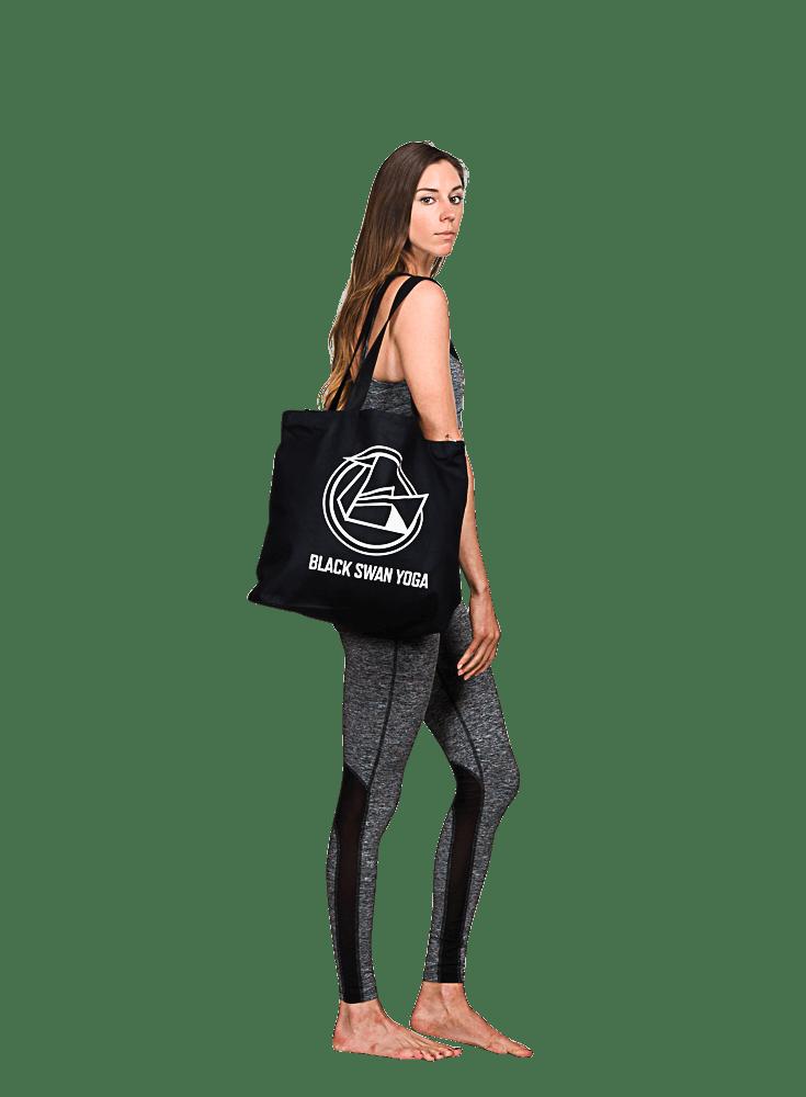 Black Swan Yoga Tote Bag
