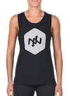 Hex Tonal Muscle Tee Black Heather/Gray